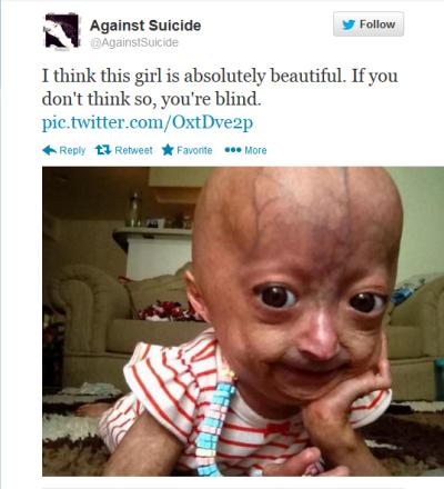 Against Suicide Tweet