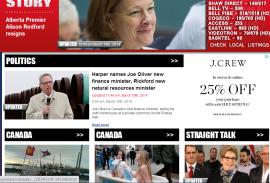 sun news page