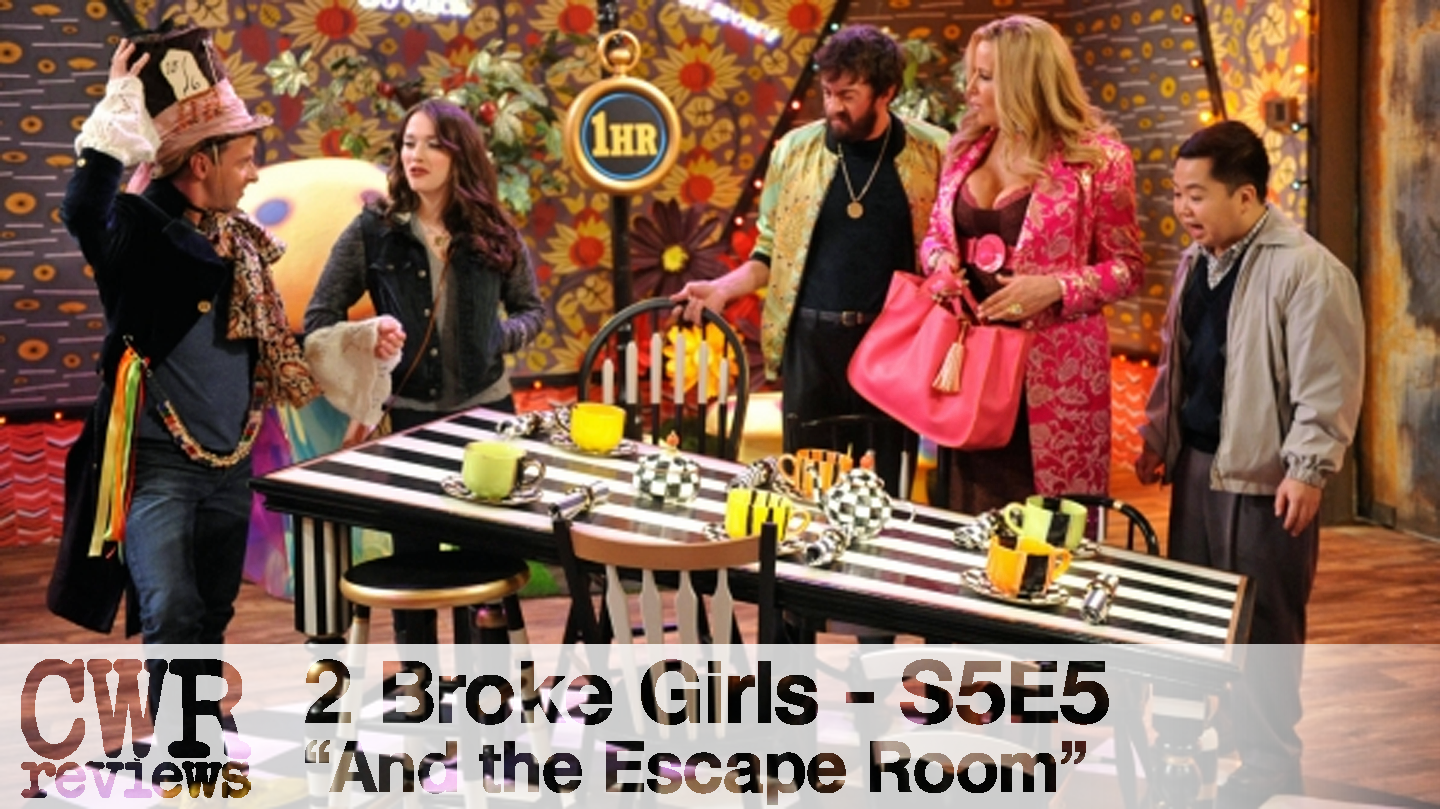 2 Broke Girls S5e5 And The Escape Room A Tv Review