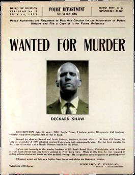 shaw-murderer